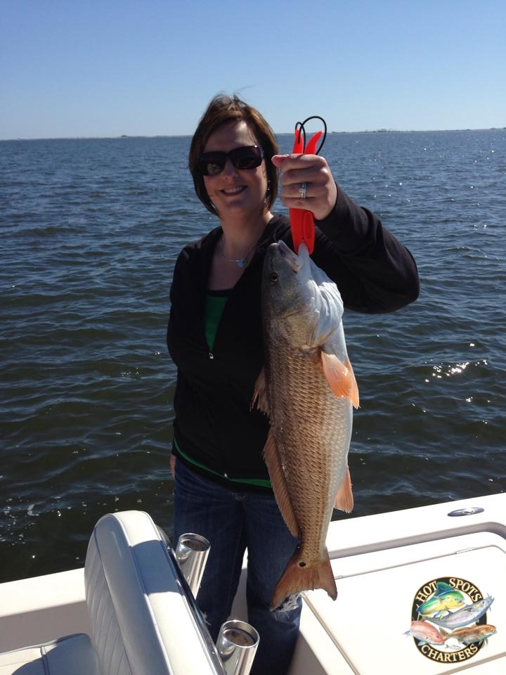Hot Spots Report for Pensacola Fishing Charters February 2014