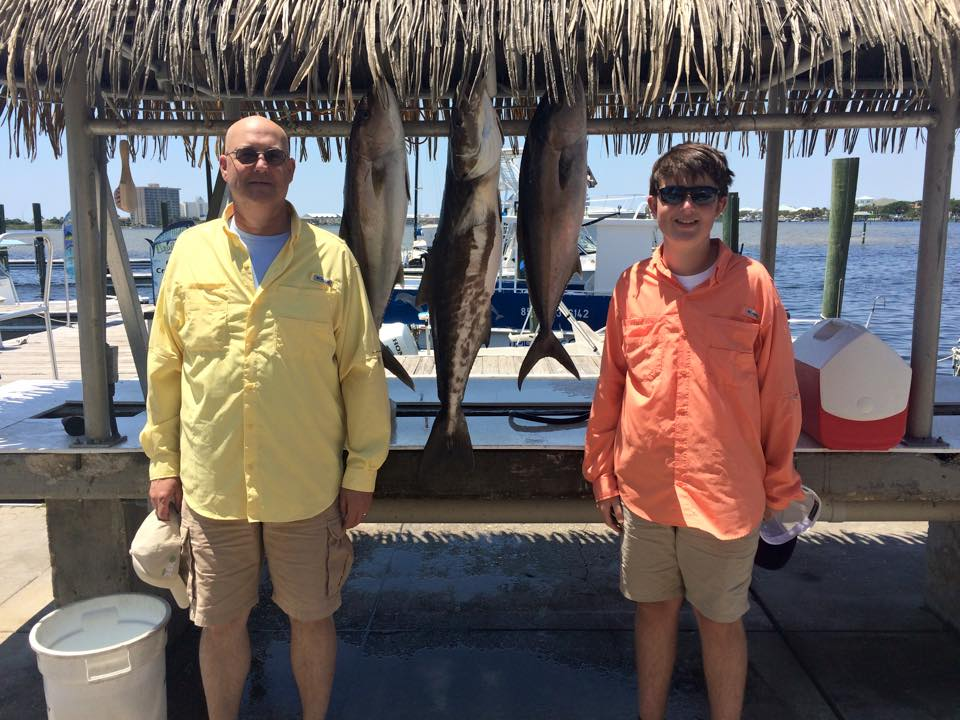 Hot Spots Report for Pensacola Fishing Charters March 2015