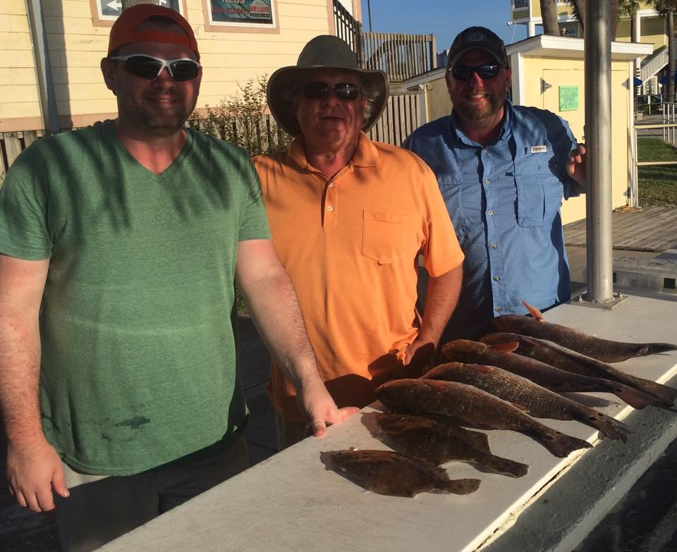 Hot Spots Report for Pensacola Fishing Charters November 2015