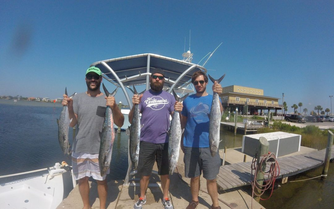 Hot Spots Report for Pensacola Fishing Charters August 2017
