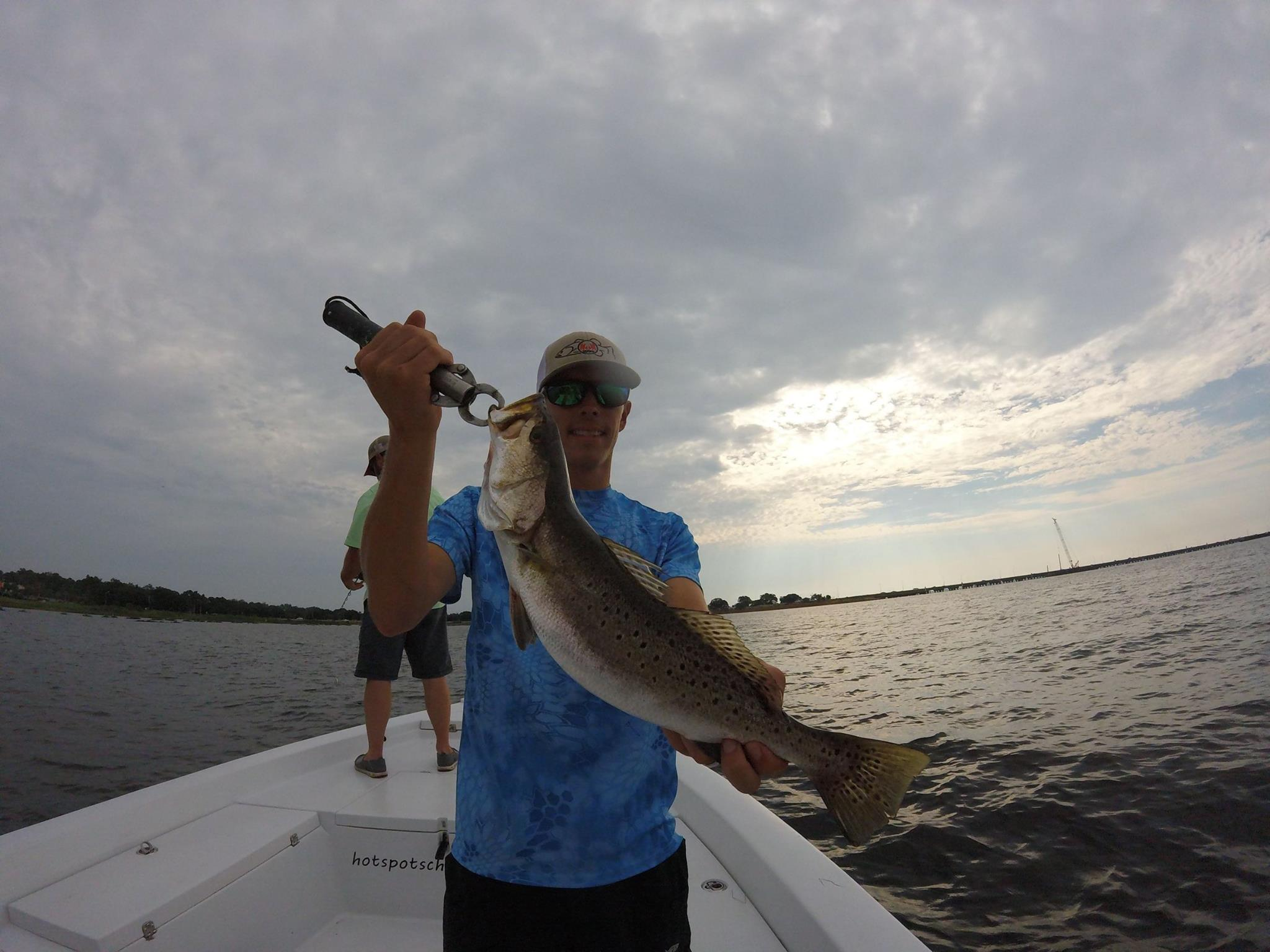 Hot spots report for pensacola fishing charters october for Pensacola bay fishing